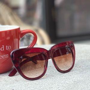 Trendy Vintage Oversized Sunglasses